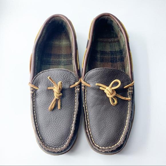 LL Bean men's slip on shoes